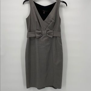 Ted Baker London Size 3 Gray Dress
